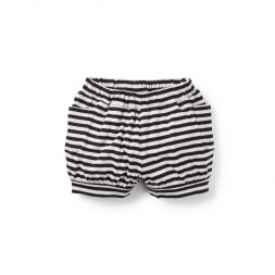 Girl Striped Baby Cargo Shorts | Tea Collection