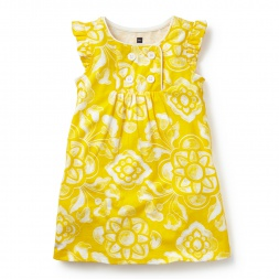 Lisbon Print Sailor Dress for Little Girls | Tea Collection