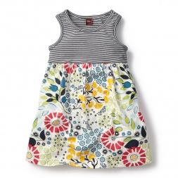 Seaside Garden Tank Dress for Girls | Tea Collection