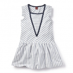 Maritime Stripe Dress for Girls | Tea Collection