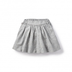 Chambray Stripe Twirl Skirt for Girls | Tea Collection