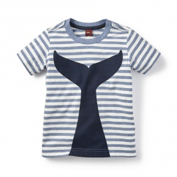 Whale's Tail Graphic Tee for Little Boys | Tea Collection