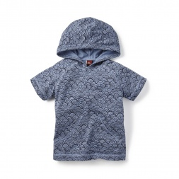 Little Boys Swaying Sea Hoodie Tee | Tea Collection