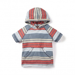 Seafarer Stripe Hoodie Tee for Boys | Tea Collection
