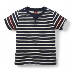 Boys Sailor Stripe FT Popover | Tea Collection