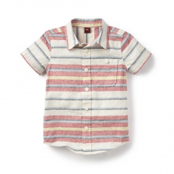 Sunset Stripe Shirt for Boys | Tea Collection