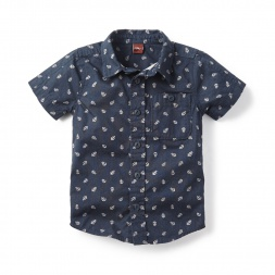 Anchors Aweigh Shirt for Little Boys | Tea Collection