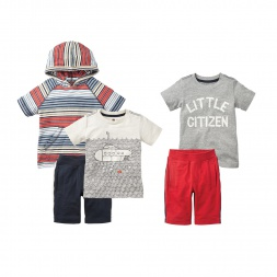 Little Citizen Set for Boys | Tea Collection