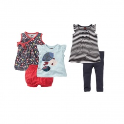 Baby Girls Happy Harbor Set | Tea Collection