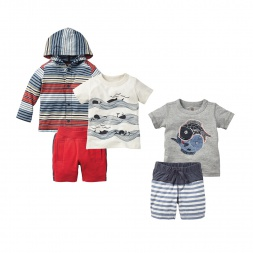 Baby Boys Deep Blue Sea Set | Tea Collection