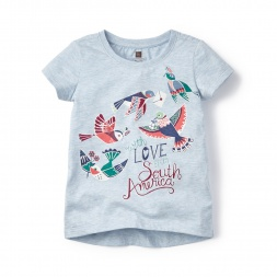 With Love Graphic Tee Shirt for Little Girls | Tea Collection