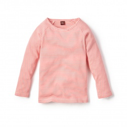 Striped Purity Tee for Little Girls | Tea Collection