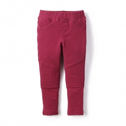 French Terry Moto Pants for Little Girls | Tea Collection