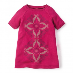 La Floresta Graphic Dress for Girls | Tea Collection