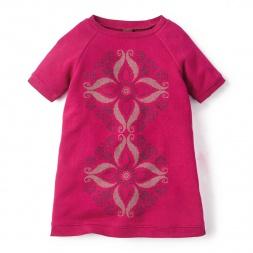 La Floresta Graphic Dress for Girls | Tea Collection