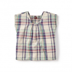 Rocio Plaid Top for Little Girls | Tea Collection