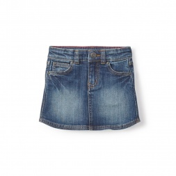 Destination Denim Skirt for Little Girls | Tea Collection