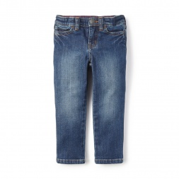 Denim Skinny Pants for Little Girls | Tea Collection