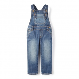 Destination Denim Overalls for Little Girls | Tea Collection