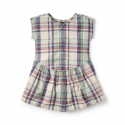 Daniela Buttoned Dress for Girls | Tea Collection