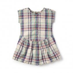Daniela Buttoned Dress for Girls | Tea Collection