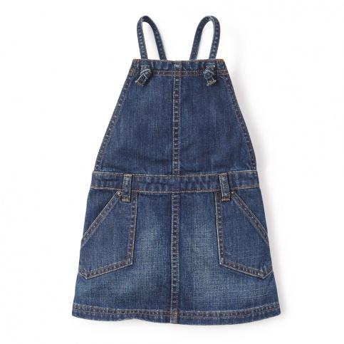 Destination Denim Jumper for Little Girls | Tea Collection
