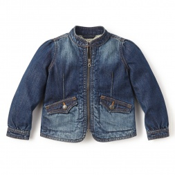 Destination Denim Jacket for Little Girls | Tea Collection