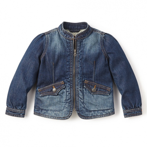 Destination Denim Jacket for Little Girls | Tea Collection