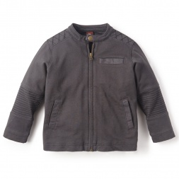 Little Boys Moto Zip Jacket | Tea Collection