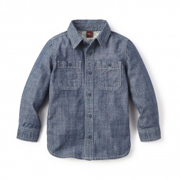 Chambray Shirt for Boys | Tea Collection
