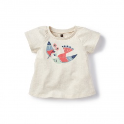 Pajaro Graphic Tee for Babies | Tea Collection