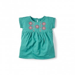 Puella Embroidered Tunic for Baby Girls | Tea Collection