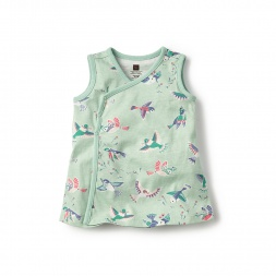 Baby Girls Pajaro Wrap Tunic | Tea Collection