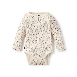 Wildflower Keyhole Bodysuit for Baby Girls | Tea Collection
