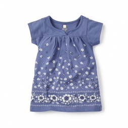 Delfina Split Neck Dress for Babies | Tea Collection