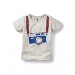 Camarita Graphic Tee for Baby Boys | Tea Collection