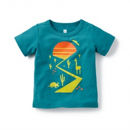 Baby Boy Amigos de Llamas Graphic Tee | Tea Collection