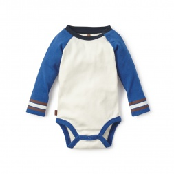 Stripe Sleeve Bodysuit for Baby Boys | Tea Collection