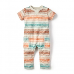 Aracar Striped Romper for Baby Boys | Tea Collection