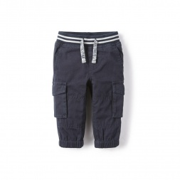 Reverse Twill Baby Pants for Boys | Tea Collection
