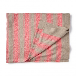 Cerro Bonete Pink Sweater Blanket for Baby Girls | Tea Collection