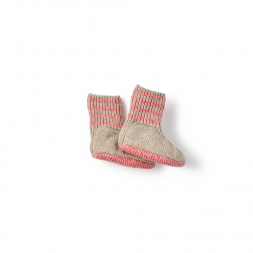 Cerro Bonete Pink Socks for Baby Girls | Tea Collection