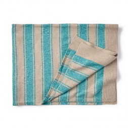 Cerro Bonete Blue Sweater Blanket for Baby Boys | Tea Collection