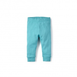 Green Alberto Knit Baby Pants for Baby Boys | Tea Collection