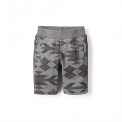 Geo Side Stripe Shorts for Little Boys | Tea Collection