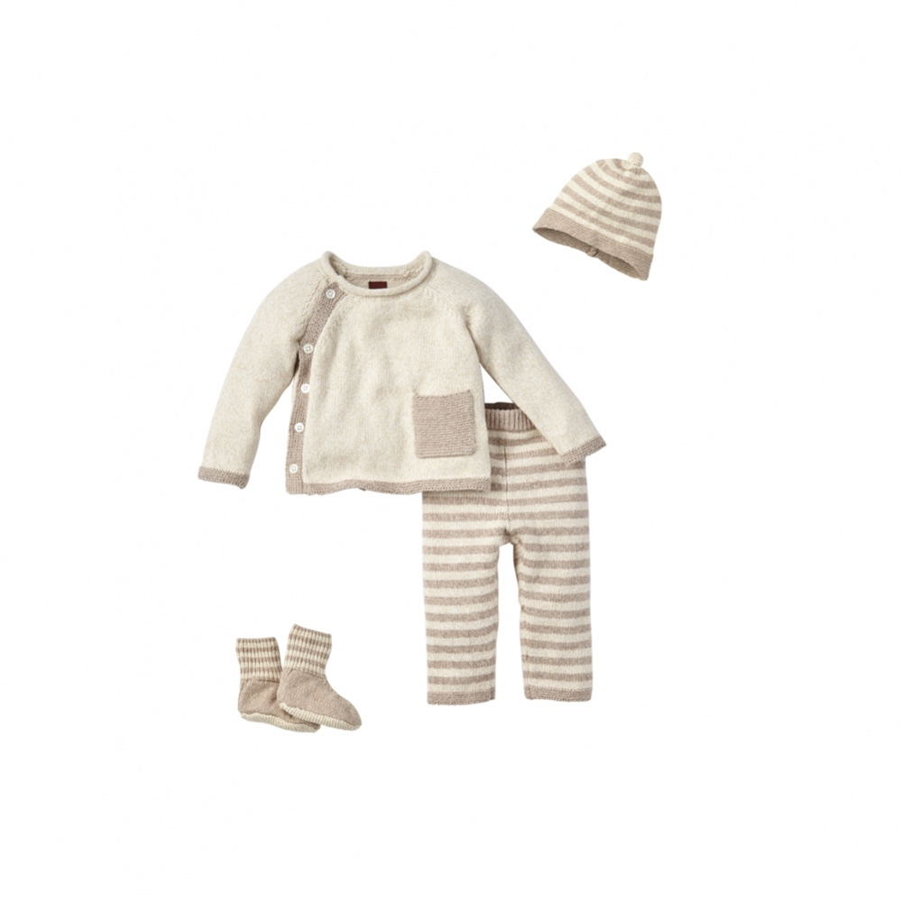 Tea Collection Cerro Bonete Taupe Set
