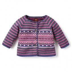 Antonia Baby Cardigan for Baby Girls | Tea Collection