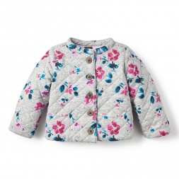 Tarija Quilted Cardigan for Baby Girls | Tea Collection
