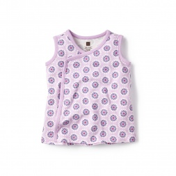 Pink Jhosselin Wrap Tunic for Baby Girls | Tea Collection