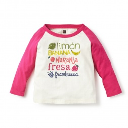Fruta Graphic Tee for Baby Girls | Tea Collection